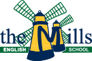 The Mills English School Logo
